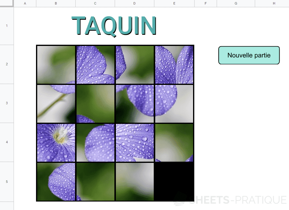 taquin google sheets png