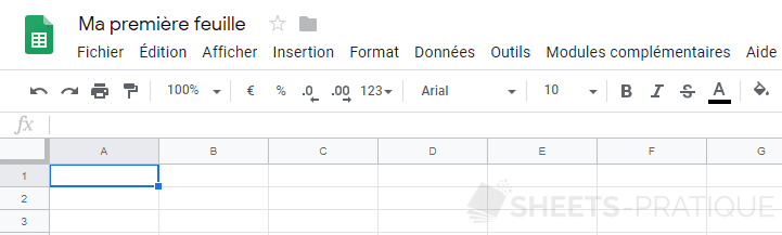 google sheets feuille renommee