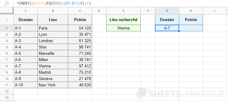 google-sheets-fonctions-index-equiv-recherche - index-equiv