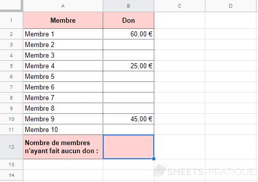 google-sheets-fonction-nb-vide - nb-vide