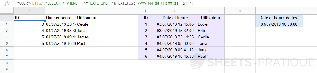 google-sheets-fonction-query-datetime-date-heure-cellule - date-heure