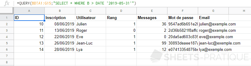 google-sheets-fonction-query-select-date - date-heure